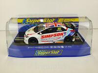 Slot Scx Scalextric Superslot H3915 Btcc Honda Civic Typ R Matt Simpson nº 303