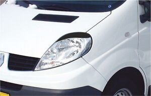 Cilia head lights Headlights eyebrows Opel Vivaro 2001 Renault Trafiс 2001 -2