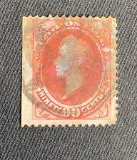Vintage US Stamp, #155... Fantastic Cancel