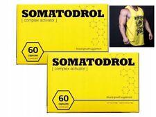 2 x Somatodrol , Bodybuilding Aumentare Massa Muscolare , Attivatore Probolan 50