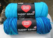 Red Heart Super Saver  -  MACAW + TURQUA (5 & 7oz) Acrylic