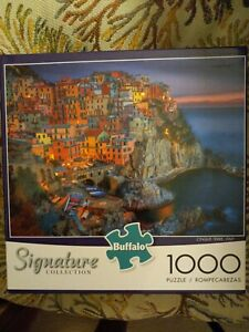 Signature Collection: Cinque Terre, Italy- 1000 Piece Jigsaw Puzzle