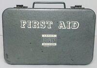Vtg Davis Metal Box First Aid Kit 1940s-1950s (Box Is Empty)