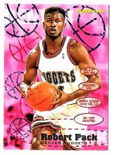 Robert Pack 1995-96 Fleer Denver Nuggets Insert Basketball Card