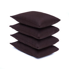 4 Pack of Brown Sports Bean Bags Throwing Catching Play PE Garden Games Juggling