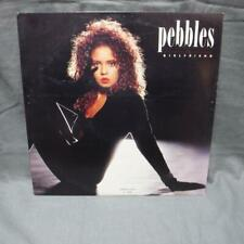 "Record Album LP Pebbles Girlfriend Extended version MCA 23794 12"" single"