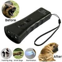 Portable LED Ultrasonic Dog Anti Bark Stop Barking Train Device Repeller Trainer