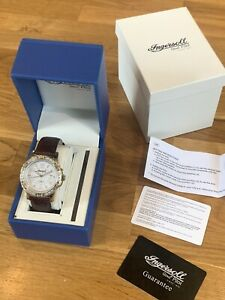 Ingersoll Gems Pilot Gents Wrist Watch New