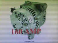 HIGH AMP ALTERNATOR 2008-2007 Pontiac Vibe 2008-04 03Toyota Corolla, Matrix 1.8L