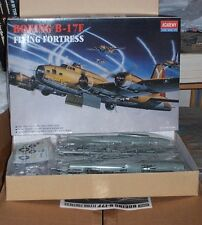 Academy Boeing B-17F Flying Fortress, 1/72 scale, 2142, copyright 1994