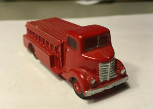 HO SCALE GREG'S GARAGE RESIN VEHICLES  1940's COE Fire Truck