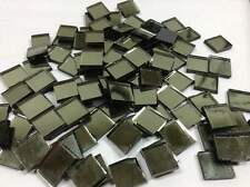 GREEN Sage Glamir Mirror Hand Cut Mosaic Glass Tile   Size 1/2