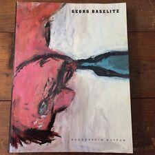 Georg Baselitz Guggenheim exhibition 1995 Diane Waldman curator paperback
