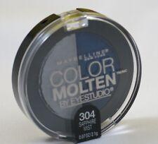 New Maybelline Color Molten Eye Studio Duo Eye Shadow-304 Sapphire Mist