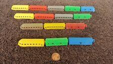 Vintage Plastic Toys Trains x 15 Pieces