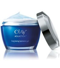 OLAY Aquaction Moisturizer 24 hr Long lasting Hyaluronic acid hydration gel 50g