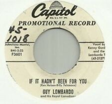 """GUY LOMBARDO """"IF IT HADN'T BEEN FOR YOU"""" """"THEME FROM ANASTASIA"""""""