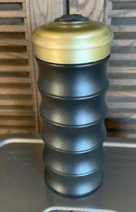 Teavana Black Ceramic Bamboo 8 oz Tea Infuser Tumbler Travel Mug