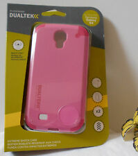 Samsung Galaxy S4 PUREGEAR DUALTEK EXTREME SHOCK Protector phone Case PINK nip