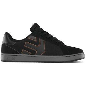 Etnies - Fader LS Sneaker Herren Skate Black Charcoal Gum Skateschuh 558