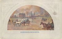 Central Trust Company of Chicago Illinois c1910 Postcard Ogden Residence Fire