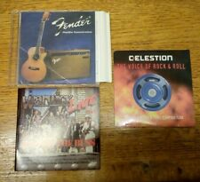 Job lot, Guitar and bass gear demo discs (see listing for details)