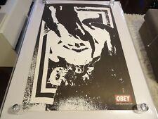 2002 Obey Shepard Fairey Obey Ripped street ART PRINT RARE 24x36