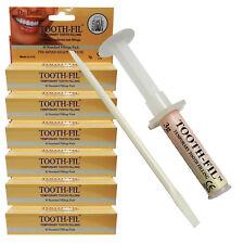 DR Denti 6 Pack Temporaneo Denti Dente di emergenza riparazione kit di cura dentale Riempimento