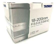 New TAMRON 18-200mm f3.5 - 6.3 Di III Lens BLACK (B011) - Sony E Mount APS-C