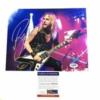 Richie Faulkner of Judas Priest signed 8x10 photo PSA/DNA Autographed