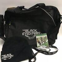 The Black Eyed Peas Lot Bag knit hat Lanyard Laminate Card 2010 Tour