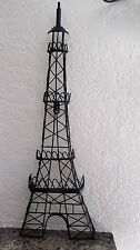"24 1/2"" Tall Metal Wire Eiffel Tower Sculpture Wall Hanging Home Decor/ Paris"