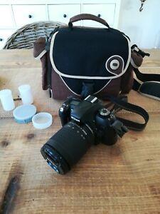 Spiegelreflexkamera NIKON F 75 inkl. Tasche und Zubehör