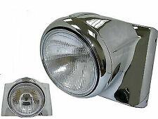 Chrome Headlamp Cowl Kit for Harley Davidson by V-Twin