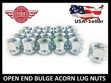 24 OPEN END TRUCK LUG NUTS | 14X2.0 FORD NAVIGATOR F-150 EXPEDITION 1.88'' TALL