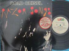 Cold Chisel ORIG OZ Only LP Razor songs VG+ '87 WEA 6001481 Jimmy Barnes