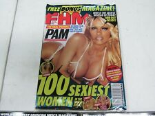 FHM MAGAZINE Pam Anderson 3 issues 1 is sealed brand new 8/02 3/03 5/04