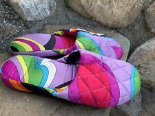 Victoria's Secret Slippers Size M Boho Retro Comfy Casual  Condition