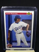 Pedro Martinez 1991 Upper Deck Star Rookie RC #18, Boston Red Sox MLB HOF'er