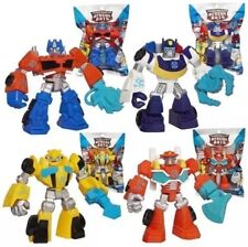 Playskool Heroes Transformers Rescue Bots Figures Set of 4: Optimus Prime Bum.