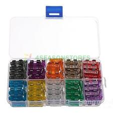 100Pcs Medium Blade Fuse Assortment Auto Car Motorcycle Suv Fuses Kit Apm Atm