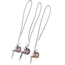 1XMini Tattoo Machine Tattoo Keychain Key Holder Punk Styles As Pendant_Ornament