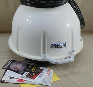 WINEGARD CARRYOUT AUTOMATIC PORTABLE SATELLITE ANTENNA RV CAMPING TAILGATING