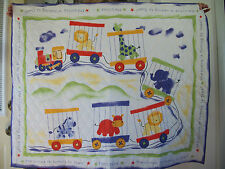 The Circus Is Coming To Town Baby Quilt! Handmade! NEW!