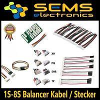 2S 3S 4S 5S 6S 8S Balancer Verlängerungskabel JST-XH JST EH  Lipo Kabel Akku