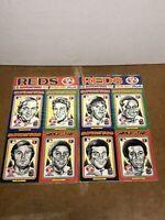 1975 CINCINNATI REDS PEE WEE SUPERSTARS BASEBALL CARDS Bench Rose NEW Sealed!