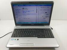 """Toshiba Satellite L500 Pentium (R) Dual-Core - 15.6"""" Cpu T4200 - 2000Mhz 2.00Ghz"""