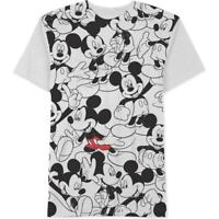 Disney NEW Black Mens Size Small S Mickey Front Graphic Tee T-Shirt $24- #132