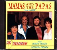 Mamas & The Papas Live in 1982 [CD]