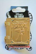 Disney Soda Fountain DSF DSSH Merida Brave Story Book Hinged Pin LE 400